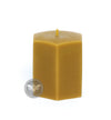 3 Inch Hexagon Beeswax Candle