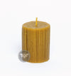 3 Inch Dribble Beeswax Candle