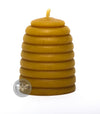 2 Inch Beehive Skep Beeswax Candle