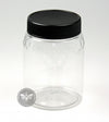 500g Plastic Honeycomb Embossed Jar