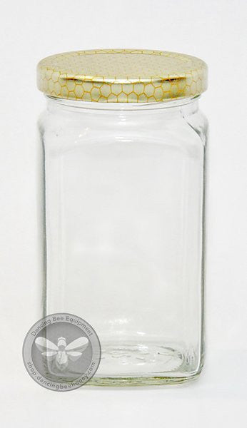 350ml Square Jar