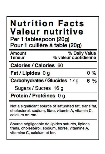 Honey Nutritional Labels - Roll of 250