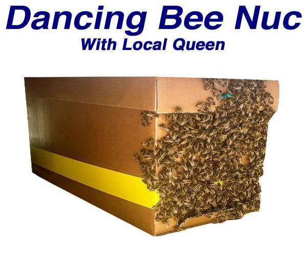 Dancing Bee Nuc, Pick up date: Tuesday July 10th 2018