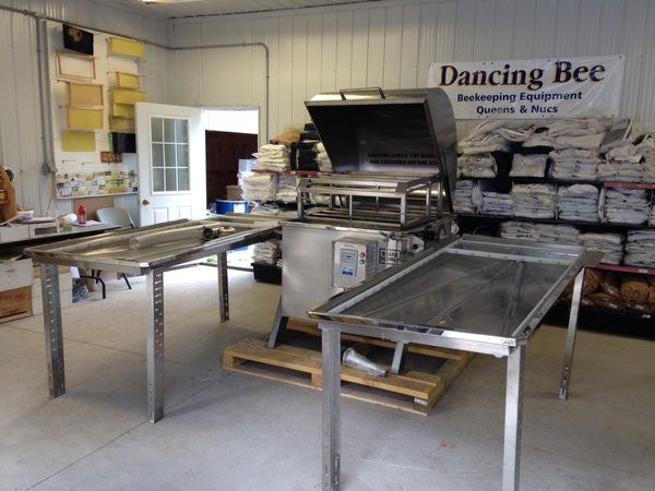 80 Frame Extractor with Processing Tables - Special Order Item