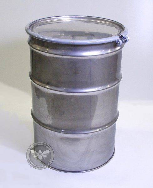 55 Gallon Stainless Steel Barrel <br> Product Code ST5502