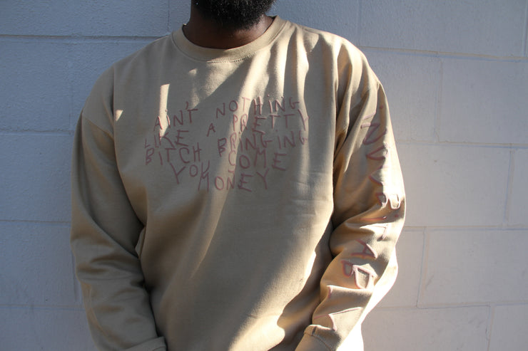 INDUBITABLY CREW NECK - TAN