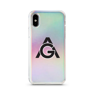 HOLOGRAPHIC ACTORGANG IPHONE CASE