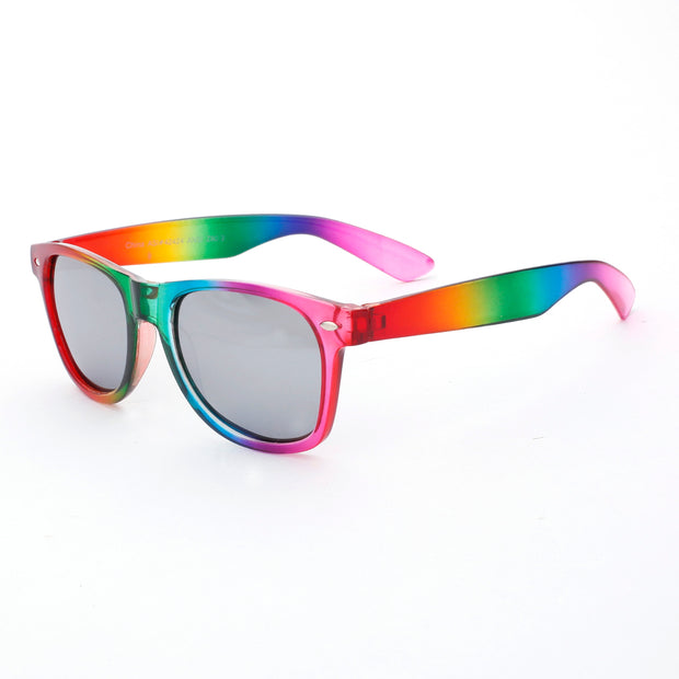 Rainbow Framed Sunglasses