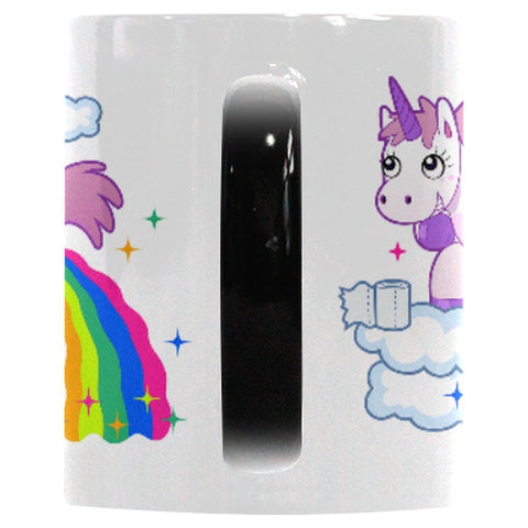 Heat Changing Unicorn Rainbow Mug