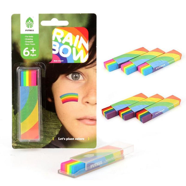 Rainbow Face Paint - Pride Picks