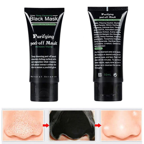 Free Black Peel-Off Skin Mask - 50ml