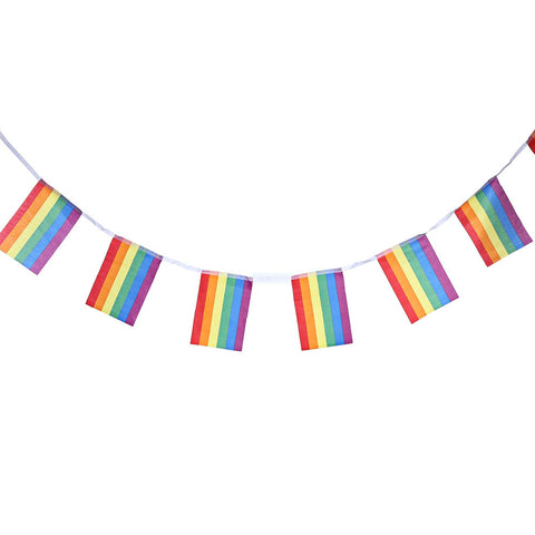 Rainbow Pride Banner 18FT