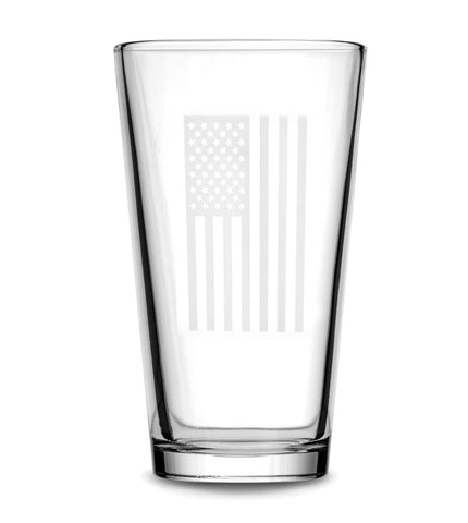 Glass Pint | American Flag