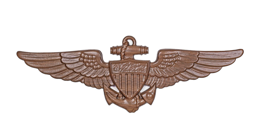Carved Wood | Aviator Wings