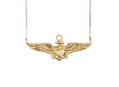 Jewelry | Aviator Wings Necklace