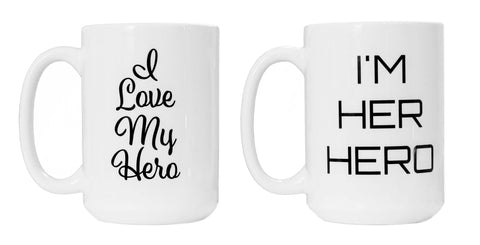 Perfectly Paired Hero Mugs
