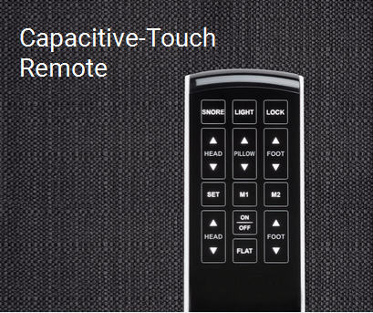 capacitive touch remote