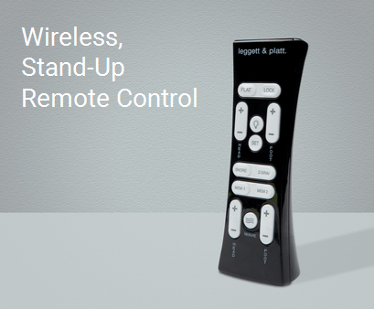 Wireless stand-up remote control