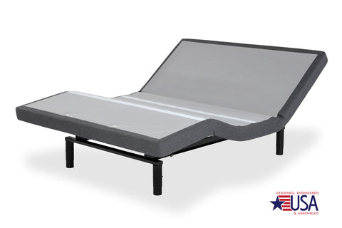 Base & Mattress Combo: Leggett & Platt S-Cape+ 2.0 Foundation Style with 14 inch Venus Mattress - Split King
