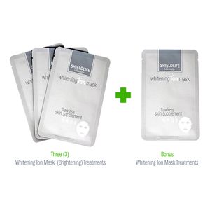 Whitening Ion Mask (Brightening) - 3+1