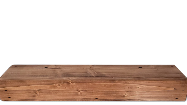 "6"" Deep Wood Floating Shelf"