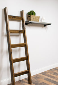 6 ft Rustic Blanket Ladder | JustKnotWood