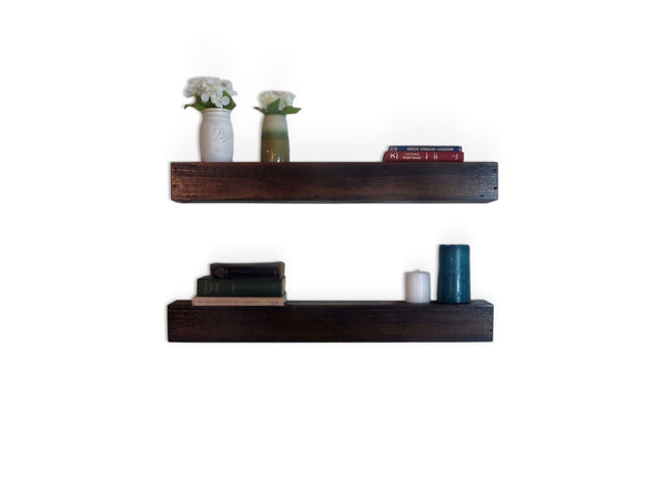 Wooden Floating Shelf Set
