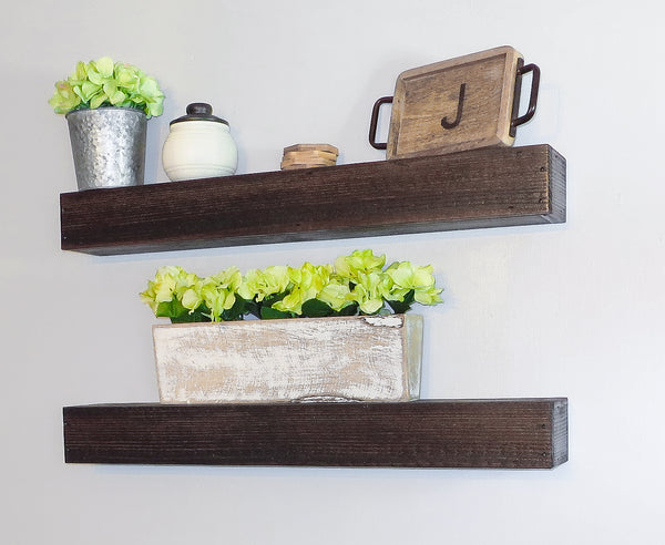 "Set of 30"" Floating Shelves"