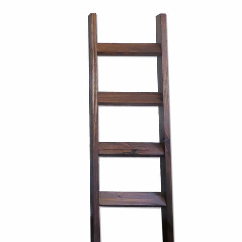 5 ft Rustic Blanket Ladder