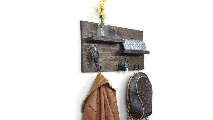 2 Shelf Entryway Organizer