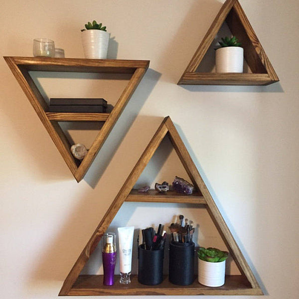 Triangle Shelf Set