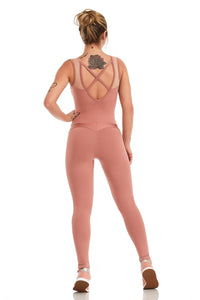 Jumpsuit NZ LIGHTNESS - ROSÉ