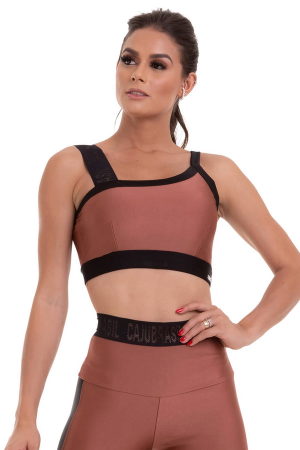 Bra Top SPELL - COPPER