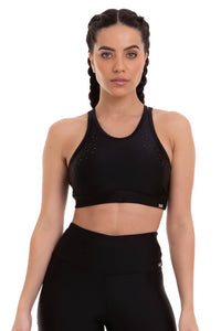 Bra Top STARDUST - Black