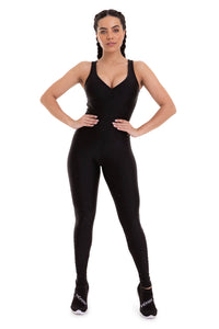 Jumpsuit STARDUST - BLACK