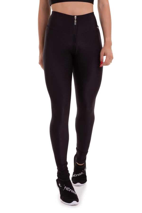 Textured Leggings DELIRIUM - Black