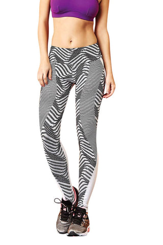 Brazilian Light Supplex Fitness Leggings - Cobblestone