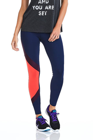 NZ Leggings TECH - Navy Blue