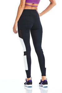 CajuBrasil USA Brazilian Fashion Fitness 9319 Leggings - Black