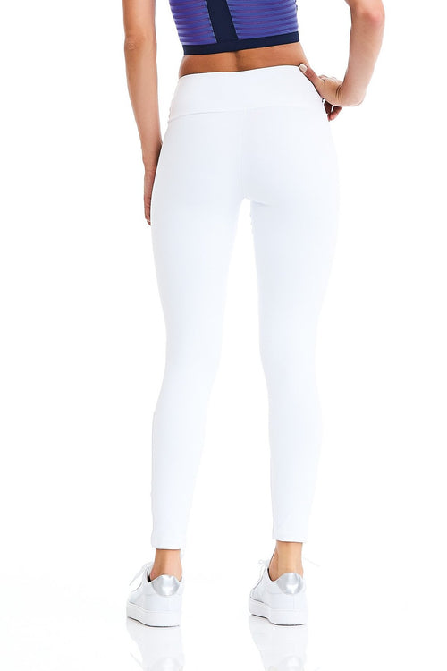 Leggings NZ MOVE - White CajuBrasil USA Brazilian Fashion Fitness 9322