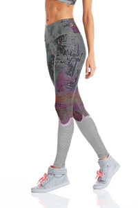 CajuBrasil USA Fashion Fitness Upscale Luxury Leggings ROCK FASHION - Between the Lines