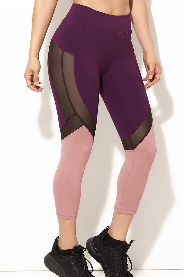 Supplex Mesh Capri - More Colors