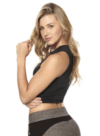Babalu Butterfly Crop Top - More Colors