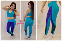 Leggings SU MOVE - Jade - Plammie Activewear