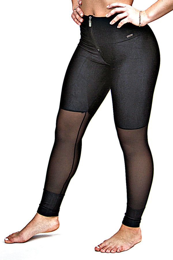 Textured Leggings ZIPPER - More Colors