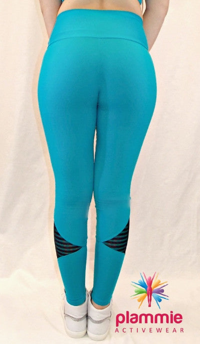 CajuBrasil USA Brazilian Fitness Leggings SU MOVE - Jade 7528 Slimming Compression
