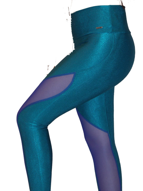 1.Leggings SPECIAL - Petroleum Green - Plammie Activewear