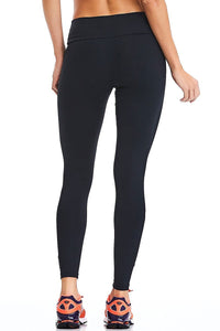 Leggings NZ PREMIUM - Black - Plammie Activewear