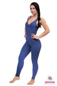Sofia Jumpsuit - Navy Blue