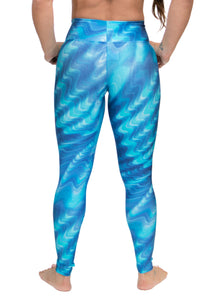 Leggings Atlanta DIGITAL - Blue Waters